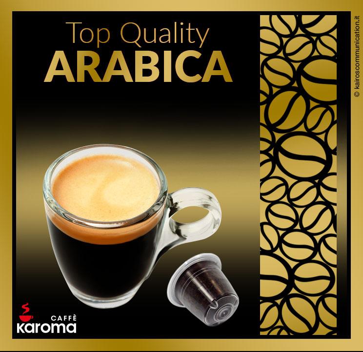 Coffee capsules arabica_karomacaffè