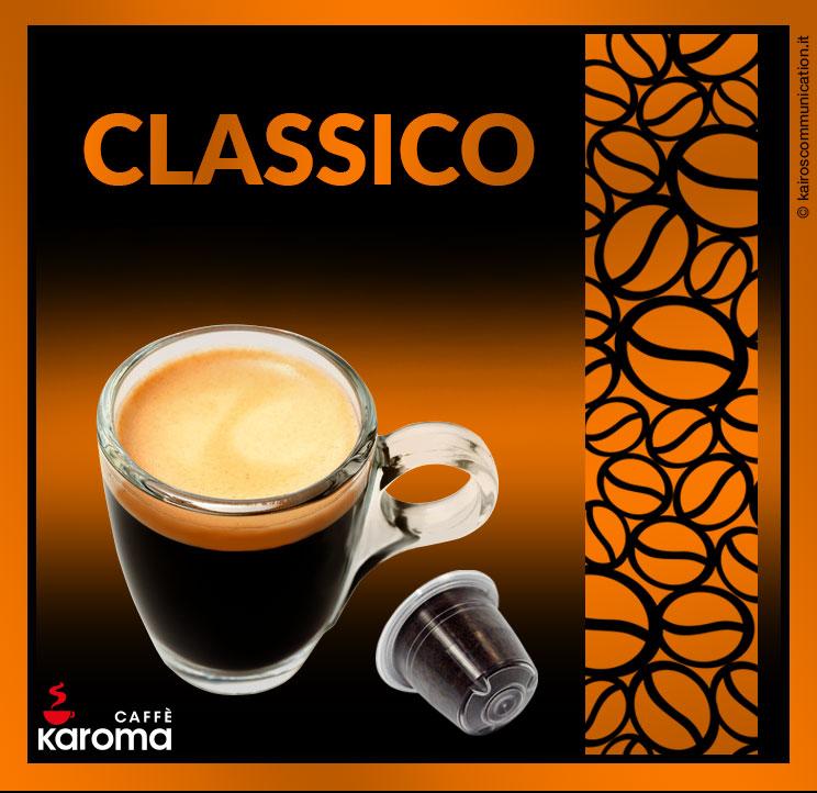 Coffee capsules classico_karomacaffè