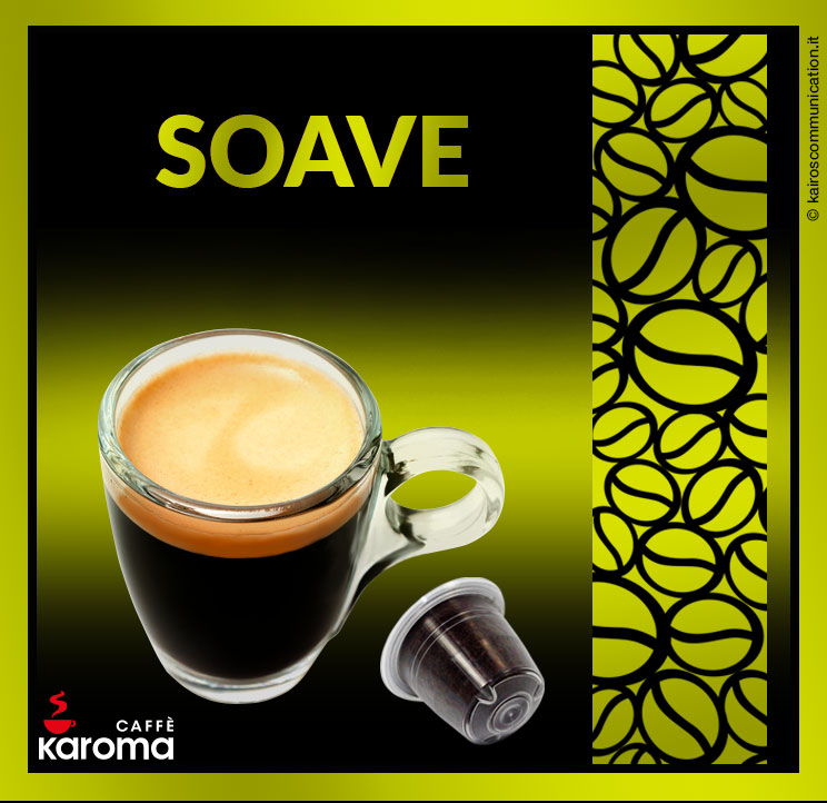 Coffee capsules soave_karomacaffè