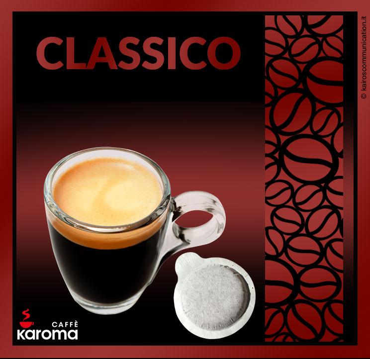 coffee pods classico_karomacaffè